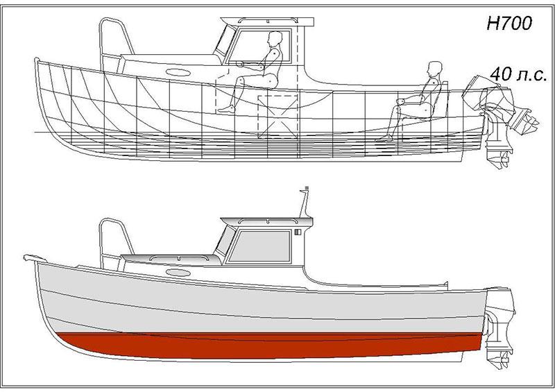проект рыболовной лодки
