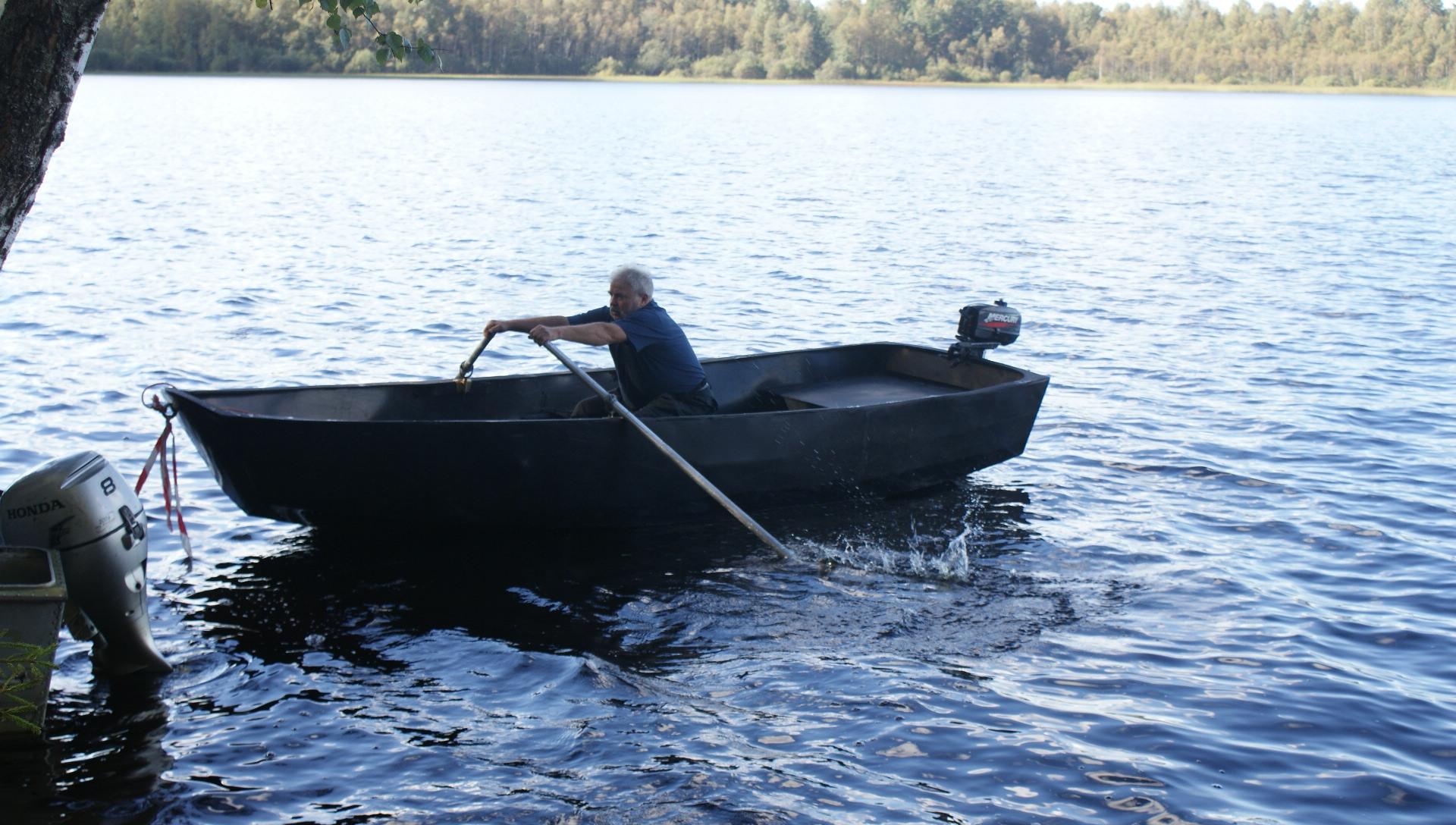 Лодка для рыбалки и водных прогулок из HDPE